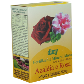 Fertilizante Azaléia e Rosa 12x500Ml