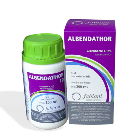 Albendathor 10 Oral Fr 200ml Albendazol S.R.