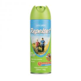 Repelente de Insetos Aerosol Repelset 200Ml